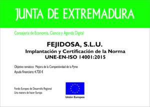 UNE EN ISO 14001:2015